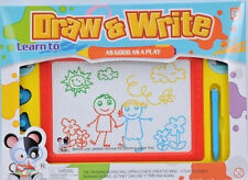 DRAW & WRITE Magnetic Erasable Drawing Board - Travel Size! NEW in Box!
