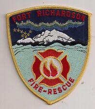 Patch Fort Richardson Fire Department Alaska USA Feuerwehr