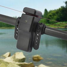 Electronic LED Light Fishing Bite Sound Alarm Alert Bell Clip On Fishing Rod