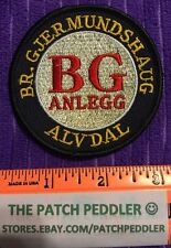 Construction Heavy Machinery Patch ?Poss. Norweigian Gjermundshaug BG Anlegg #3U