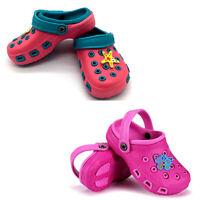 Girls crocs sandals clogs children sandals swim water beach slippers
