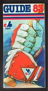 1983 MONTREAL EXPOS  MEDIA PRESS GUIDE  EX-MINT