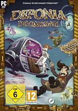 Deponia Doomsday PC/Mac Game Spiel DVD Rom Set Spezial Edition Deutsch Neu OVP