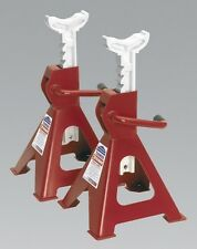 Sealey VS2002 Axle Stands 2 Tonne Capacity Per Stand Ratchet Type Equipment