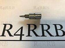"""2011 Snap-on Tools USA 1/4"""" Drive 8IPR Tamper Torx Plus Socket Driver TTXR8TPE"""