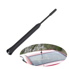 9'' Radio AM/FM Amplified Roof Mast Whip Aerial Antenna For VW Mazda 5 6 Lexus