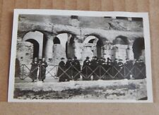 Photograph Social History Priests On Tour Of The Colosseum Rome Italy