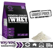 5KG WHEY PROTEIN CONCENTRATE  WPC NATURAL UNFLAVOURED POWDER