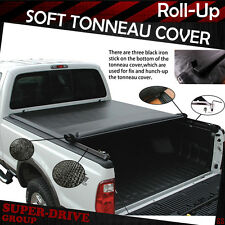 """Premium Lock Roll Up Tonneau Cover For 2007-2016 TOYOTA TUNDRA 5.5' FT 66"""" Bed"""