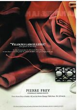 Publicité Advertising 1979 Tissus etoffes et papiers peints Pierre Frey