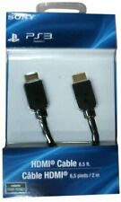 Official Genuine  Sony Playstation 3/PS4 High Speed HDMI Cable New & Sealed