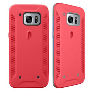 For Samsung Galaxy S7 Edge Case | Poetic Rugged Bumper Protection Cover Pink