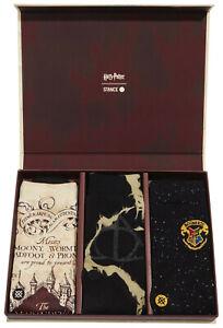 Stance x Harry Potter Sorting Hat Box Set Deathly Hallows Map Crew Socks L Men's