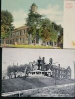 2 ANTIQUE NEW CASTLE PA POSTCARDS