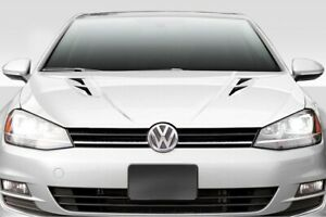 Volkswagen Golf / GTI MK VII K1 Style Fiberglass Bonnet