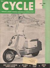 1959 July Cycle - Vintage Motorcycle Magazine