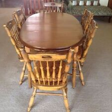 Solid Wood Extending Dining Furniture Sets