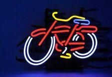 "New Fat Tire Belgian Neon Light Sign Lamp Beer Pub 14"" Wall Decor Artwork Glass"