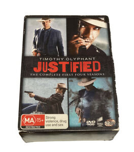 justified dvd The Complete First Four Seasons