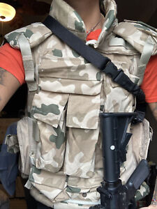 Body Armor and Tactical Vest Level 3 Bulletproof Plates + More