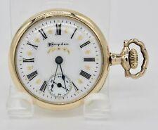 3/0 Size Hampden Pocket Watch