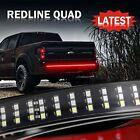 5 Modes 3 Row 60 432 Led Truck Strip Tailgate Light Bar Reverse Brake Signal Us