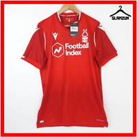 Nottingham Forest Football Shirt Macron XL Home Soccer Jersey The Reds 2019 2020