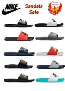 🔥🔥🔥NEW Nike Mens Benassi JDI Slippers Slide Sandals 343880 Size 6 to 15