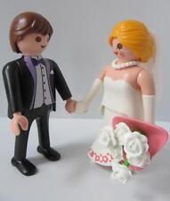 Playmobil Mariée et marié nouvelles figures for Modern Mariage/dollshouse sets