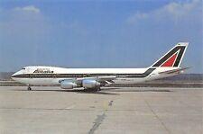 Alitalia Boeing 747-243B I-DEMD C/n 22507  Airplane Postcard