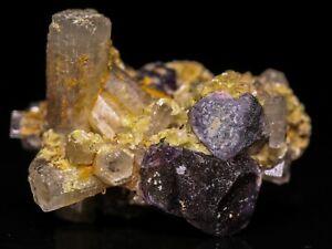 Goshenite and Tourmaline Cluster Thumbnail, Erongo Mnt Region, Namibia