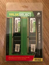 Corsair 1GB PC2-3200 DDR2-400 Memory Module DIMM Kit (2x 512MB) VS1GBKIT400