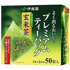 ITOEN Premium Tea Bag - Roasted Rice (Genmai) Tea with Maccha (50 bags)
