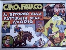 Avventure Cino e Franco Ritorno pattuglia avorio 1974 Anastatica Nerbini [C21C]