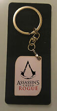 NEW Assassin's Creed Rogue Logo wood Keychain
