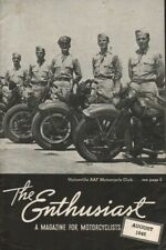 1945 August - The Enthusiast - Vintage Harley-Davidson Motorcycle Magazine