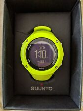 Suunto Ambit3 Run Watch Lime Green Great Condition