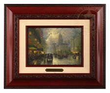 Thomas Kinkade New York Fifth Avenue - Brushwork (Brandy Frame)