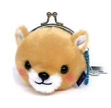 AMUSE Stuffed Animal Mameshiba San Kyodai Gamakuchi Coin Pouch (Mametaro) 23c61