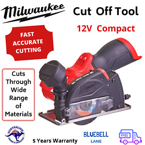 """New Milwaukee M12 Fuel 3"""" Compact 12V Cordless Cut off Tool 20,000RPM, Skin Only"""