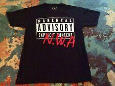 N.W.A. PARENTAL ADVISORY Medium T Shirt 2015 RUTHLESS Ice Cube DRE Eazy E VG