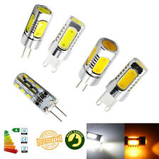 cree g4 g9 led bulb cob capsule replace halogen light lamps 110v 220v dc12v