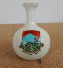 Crested Ware Clifton  China Callander  crest Model of Roman Vase Canterbury