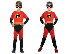 Disfraz inspirado en Los Increíbles. Talla 7-9 Años. Incluye mono y antifaz.