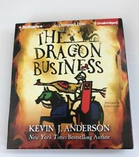 The Dragon Business by Kevin J Anderson 2015 CD Audiobook Unabridged
