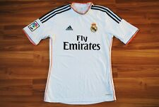 SIZE S REAL MADRID HOME FOOTBALL SHIRT 2013/2014 JERSEY CAMISETA TRIKOT MAILLOT
