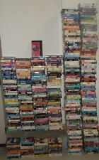 $1 EACH YOU PICK - HUGE VHS MOVIE LOT 1,000 VHS TAPES! Comedy, Drama Sci-Fi...