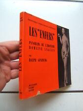 GINZBURG  / LES ENFERS / PANORAMA DE L EROTISME ANGLAIS  /  PAUVERT  /  1961