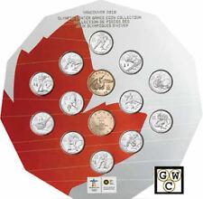 Vancouver 2010 14-Coin Circulation Collection Cardboard Set (12073) (OOAK)