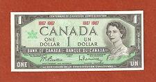 1867-1967 Centennial One Dollar Bank Note Gem Uncirculated Crisp Bank Note Lot53